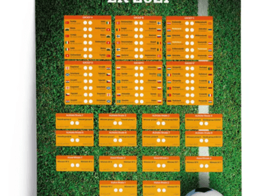 Gras EK speelschema 2021