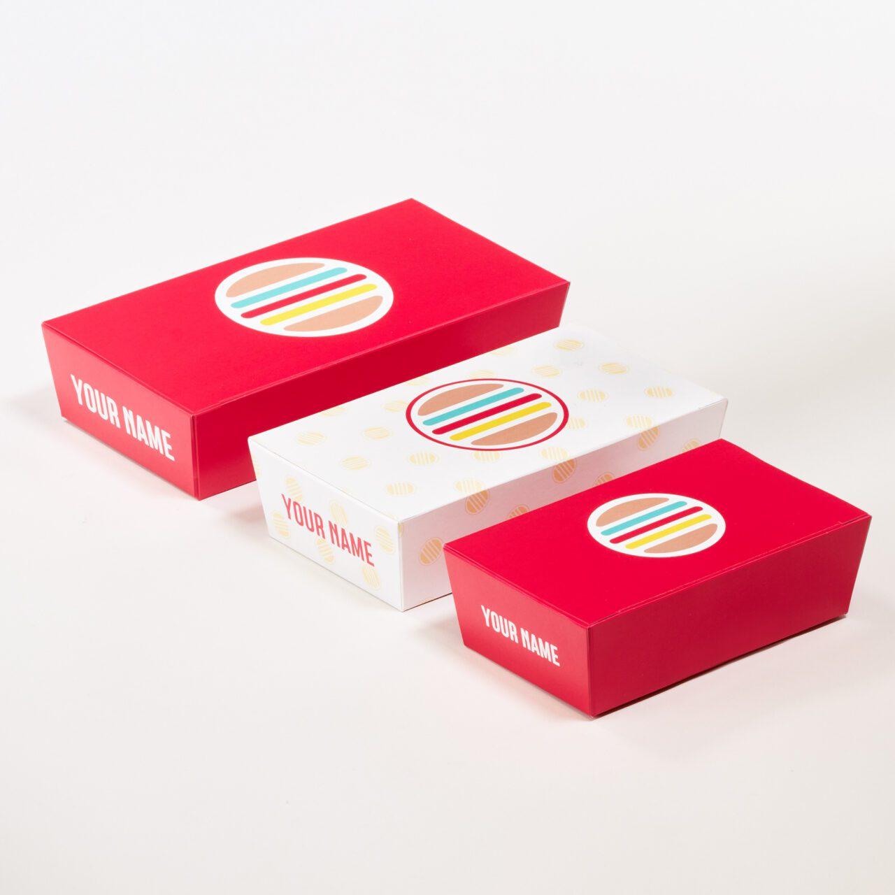 Snackboxen bedrukken